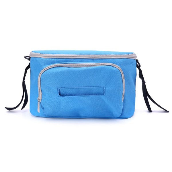 Quality Universal Baby Stroller Organizer Bag with Adjustable Shoulder Strap and Wipe Access Pocket for Mom/ Mother