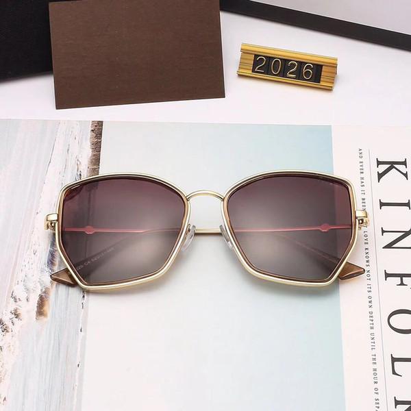 75e23fc81bd2a GUCCI 2026 Luxo Óculos De Sol Dos Homens Designer de Moda Oval Óculos De  Sol de