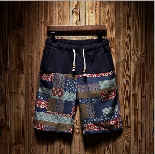 Yaz Tasarımcı Şort Mens Casual Plaj Şort Desenler ile Marka Kısa Pantolon Moda Erkek Iç Çamaşırı Erkek Eğlence Giyim 11 Stilleri M-4XL