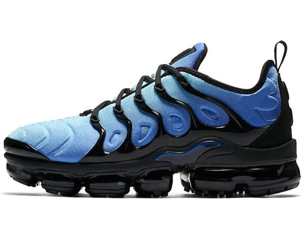 Cheap TN PLUS Mens Women Running Shoes BE TRUE Yellow Triple Black White Hyper Blue Volt Men Designer Trainer Sport Sneaker Free Shipping