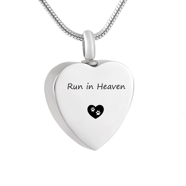 Womens Cremation Ash Keepsake Urn Pendant Necklace Memorial Jewelry Heart Hold Round Urn