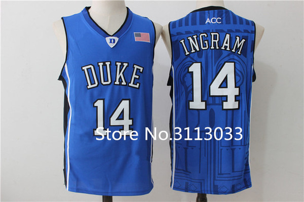check out e6a49 174c7 2019 Brandon Ingram #14 Duke Blue Devils College Top Top Jersey Stitched XS  6XL Vest Jerseys Baseball From Mlbjersey1, $18.59 | DHgate.Com