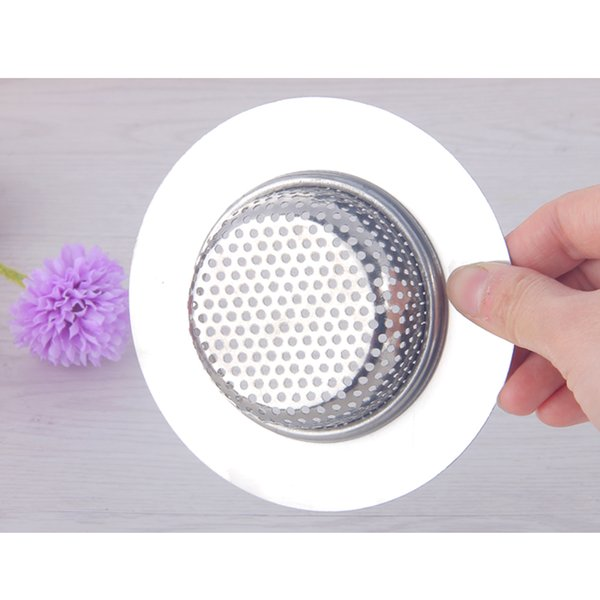 7/9/11cm Stainless Steel Sink Filter Drain Filter Hair Catcher Stopper Trapper Drain Colanders Strainers Kitchen Bathroom Drain