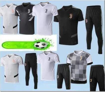 2019 20 Juventus Tuta da allenamento per 3/4 Juventus Tuta da calcio Traning Jersey Calcio Polo da calcio