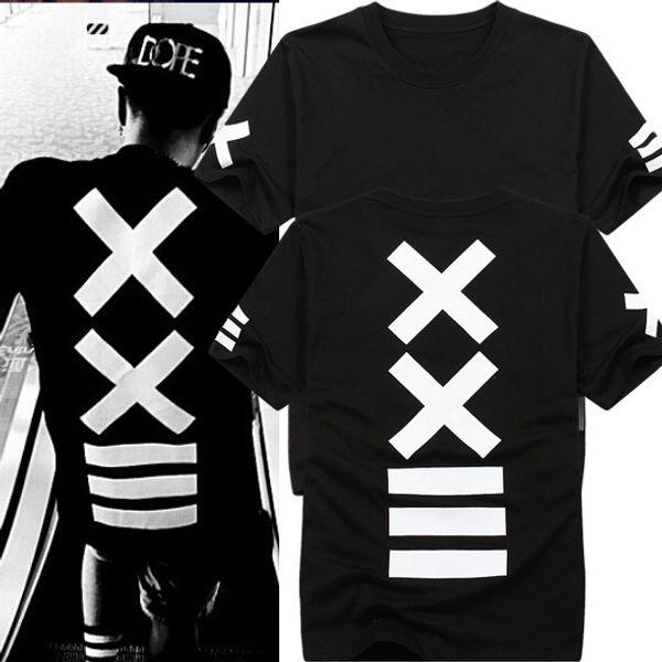 Camisetas hombre t-shirts fashion hba Hip Hop t shirt Men's rock tee shirt bandana t Print Graphic swag tshirt