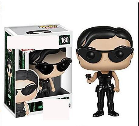 Kids toy 2019 arrival Funko Pop Movie: The Matrix - Trinity Vinyl Action Figure with Box #160 Toy Gift
