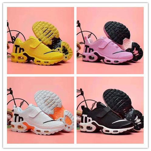 nike TN plus air max airmax Bebek TN 2 çocuk Sneakers Ayakkabı gençlik Koşu Ayakkabıları Eğitmen Hava run 2019 tn Spor ayakkabı 28-35