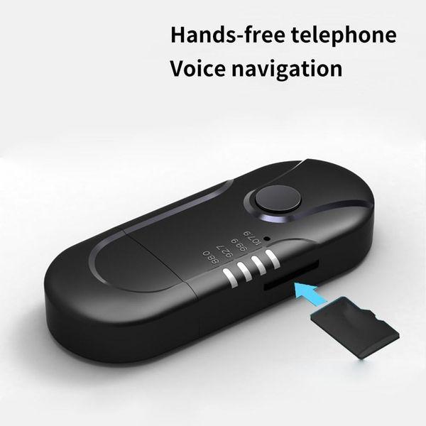Car Wireless Receiver Car Mp3 Player Mini Stereo Voice Handsfree USB Wireless Fm Audio Transmitter