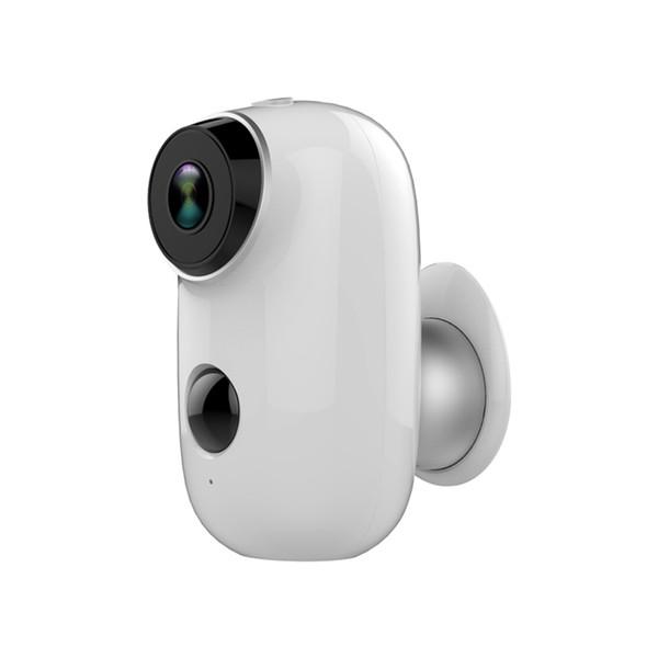 Consumo inteligente de cámaras de seguridad a prueba de agua Inicio de montaje en pared de la visión nocturna de detección de movimiento de baja energía Wifi de la cámara
