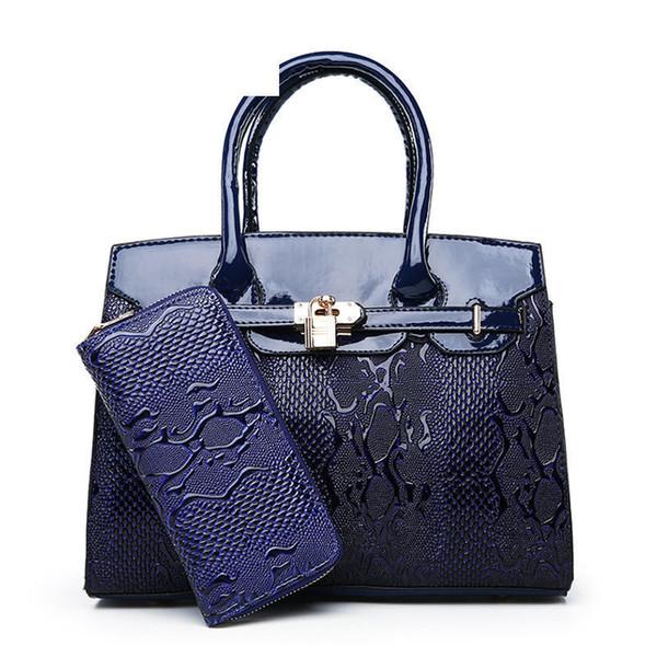 6a923b9deac5 Персонализированные серпантин стереотипы сумочка мода из двух частей мать  сумка Дикий случайный темперамент плеча сумка