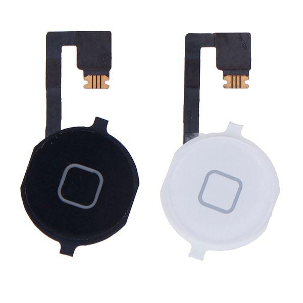 Piezas de la cinta del sensor del cable flexible del ensamblaje del botón de inicio para 4S