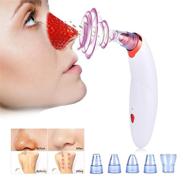 Körper Schröpfen Mitesser Entfernen Saugen Gesicht Reinigen Poren Vakuum Akne Pickel Entfernung Gesichts Diamant Dermabrasion Werkzeugmaschine C18122901