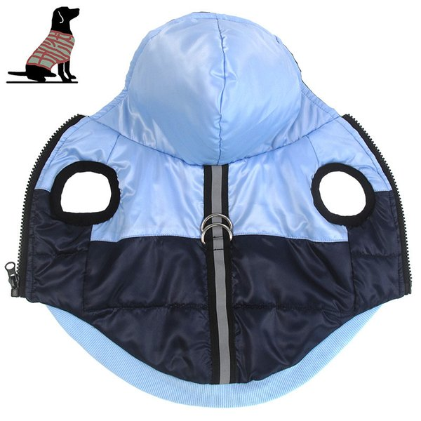 Waterproof Dogs Clothes Winter for Puppy Jackets Dog Coat for Cats Doggie Hoodies Outwears Pets Apparels Supplies Wholesale Drop Shipping