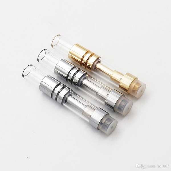 Bestseller Ugello di aspirazione di vetro Vuoto Vape Pen Cartucce S3 0.5 ml / 1 ml di ceramica Vaporizzatore penna per 510 filo di spessore olio spedizione gratuita