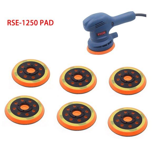 Ryobi 1250-5 sources d'énergie renouvelables pouces 125mm 8 trous Back-up Ponçage Pad 4 Crochet clous et châssis en boucle pour Outils électriques Accessoires Pièces