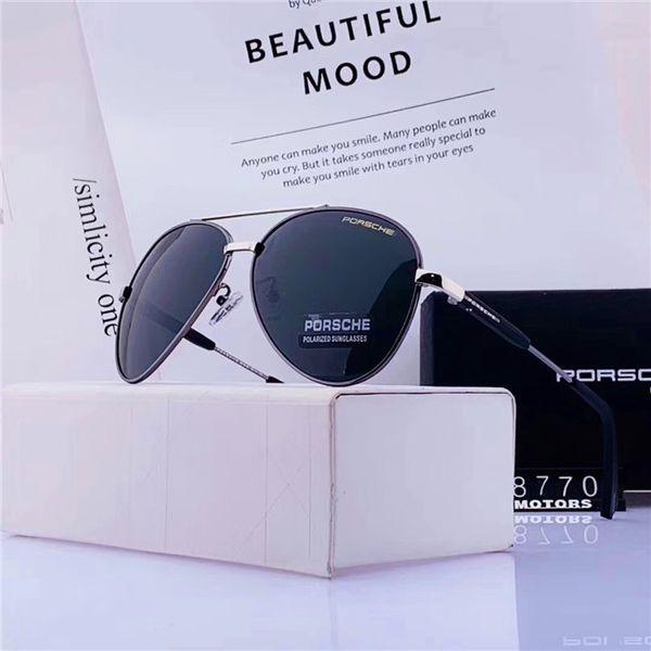 carré de style aviation de haute qualité lunettes de soleil vintage classique concepteur de marque box livraison gratuite pour les lunettes de soleil box Livraison gratuite