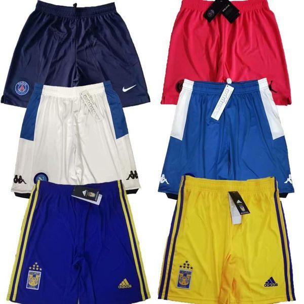 Top Shorts de soccer psg qualité thai 2019 2020 Naples shorts de football Shorts 19 20 Tigres Taille S-2XL l'Europe