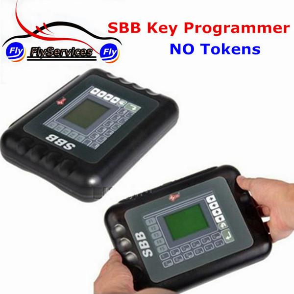 Programmatore di chiave universale Silca SBB V33.02 per auto multimarca Marca automobilistica automatica delle chiavi FFS tramite immobilizzatore senza token