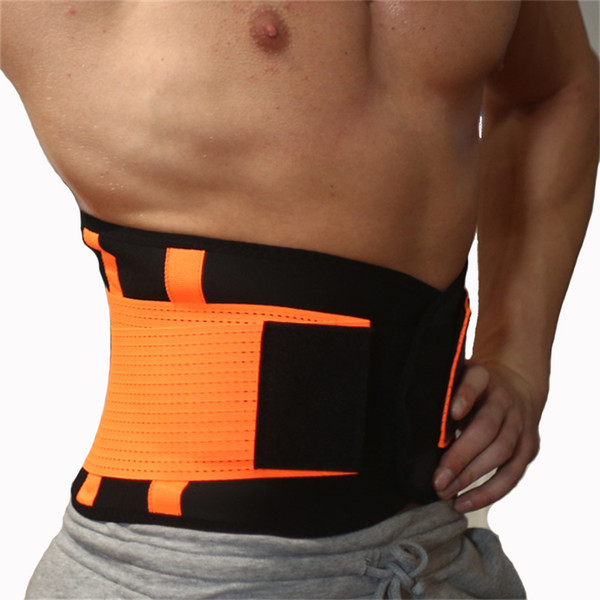 149a82c98a6 Men And Women Neoprene Lumbar Waist Support Waist Trimmer Belt Unisex Exercise  Weight Loss Burn Shaper