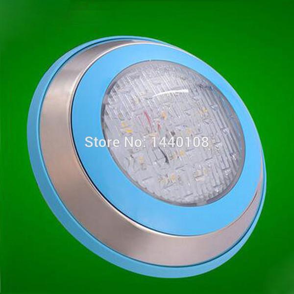 3 adet / grup 15 w LED Yüzme Havuzu Aydınlatma Paslanmaz Çelik RGB Ac12V / 24 v Havuzları Için LED Sualtı Işıkları Peyzaj Lambası Ip68