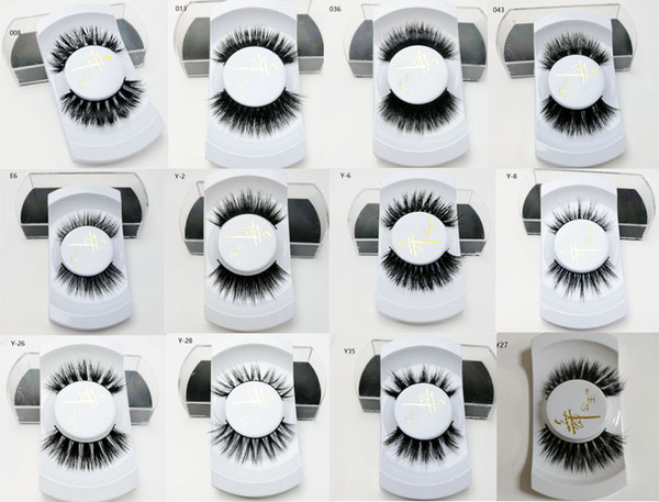 New Product Ideas 2019 Wholesale Private Label Eyelashes Natural Vendor 100% Real Mink Lashes Full Strip s