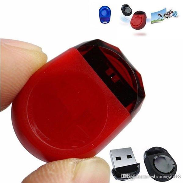 HOT Wholesales Brand New Real Capacity Gem Brand Tiny USB 2.0 Flash Pen Drive Memory Stick Car U Disk