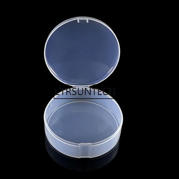 510pcs Jar Mini bottiglia di campionamento Sigillare il vasetto di crema per il viso Contenitore di soffio Contenitore di immagazzinaggio di piccoli gioielli trasparente rotondo portatile