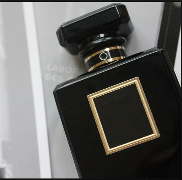 Hot Black Bottle 100ML Ladies Perfume Spray Long-lasting Eau De Parfume Oriental Fragrance Amazing Scents Free Shipping