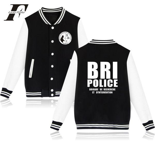 BRI printed fashion cool Baseball Jacket men women Sweatshirts coats casual long sleeve hoodies Jackets tops