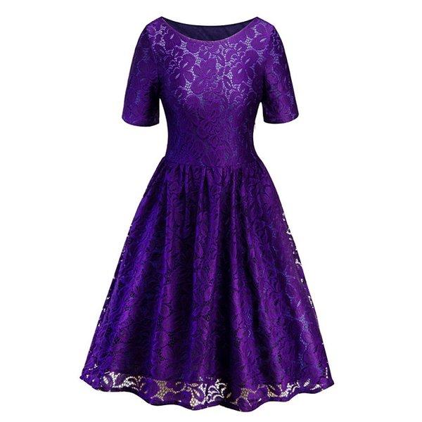 la dama de honor púrpura