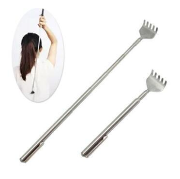 Useful Stainless Steel Back Scratcher Telescopic Extendable Claw Extender Portable Scratcher Pen Full Body Massager CCA11051 200pcs