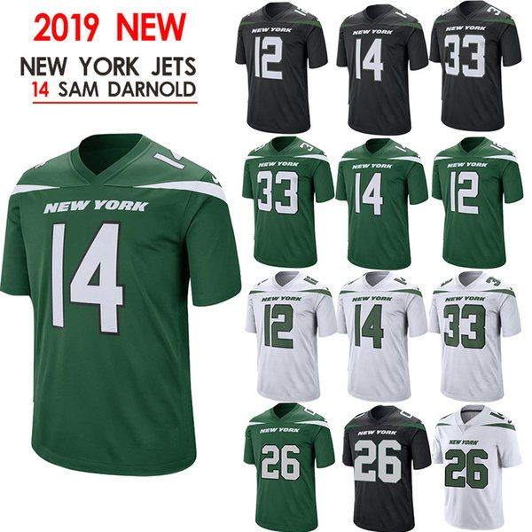 outlet store sale 0c1ae 6120a 2019 26 Bell Jerseys 57 Mosley Jets 14 Sam Darnold Jersey New 2019 New York  33 Jamal Adams 12 Joe Namath 11 Robby Anderson From Cheap_sell_jerseys, ...