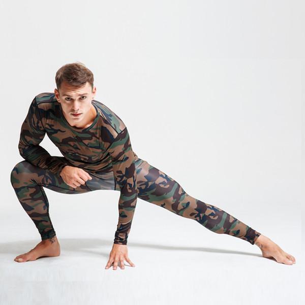 Vente chaude MMA 2019 Sports Compression Underwear Long Suit Hommes et Femmes Automne / Hiver Running Sports Training Base Tights