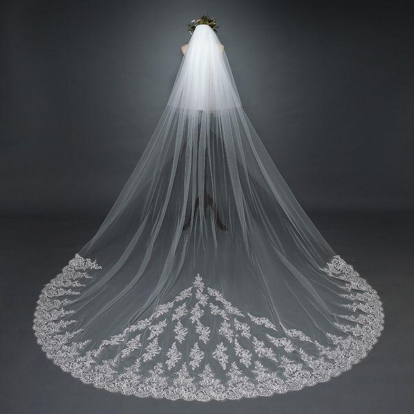Triangle Lace Applique Wedding Veils Wedding Bridal Hair Accessories Wedding Accessories Bridesmaid Veils With Comb Cheap Bridal Accessories