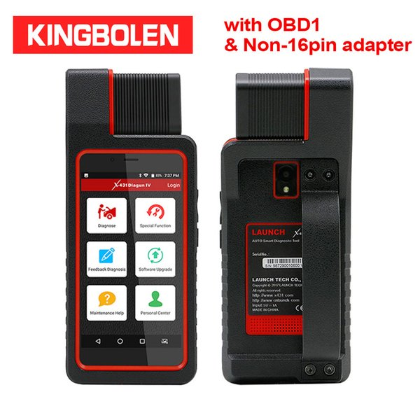 Launch Diagun IV Full set with Old Car OBD1 OBD2 Cable Auto Diagnostic Tool 2 years Free Update VCI X431 Diagun 4 Auto Scanner