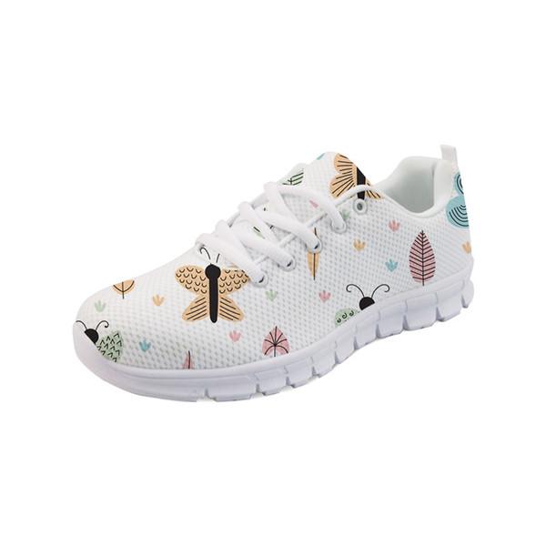 Ladies 3d Mesh Flats Women Noisydesigns Sneakers Casual 8nO0wPk