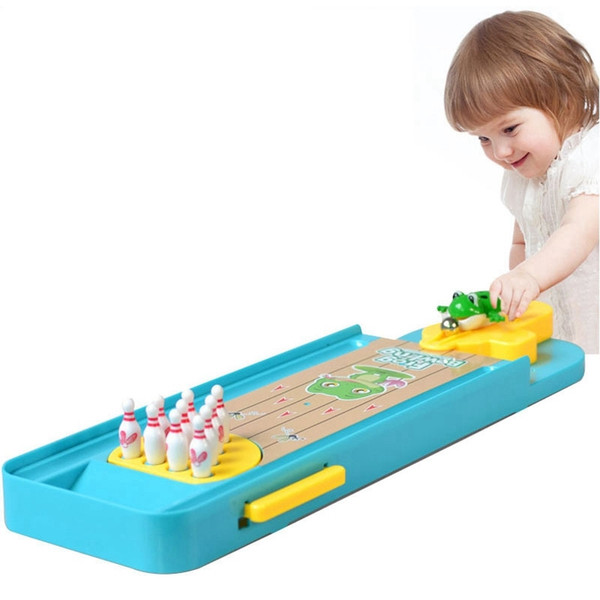 best selling Baby Toys For Children Board Game Mini Bowling Games Parent-Child Interactive Table Games For Kids Educational Toys For Children Y200413