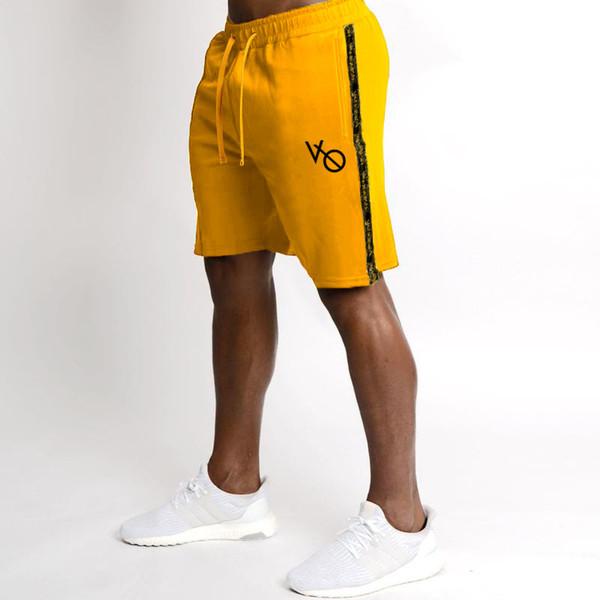Short de fitness pour homme Short de fitness sportif d'été pour l'été, short mi-long