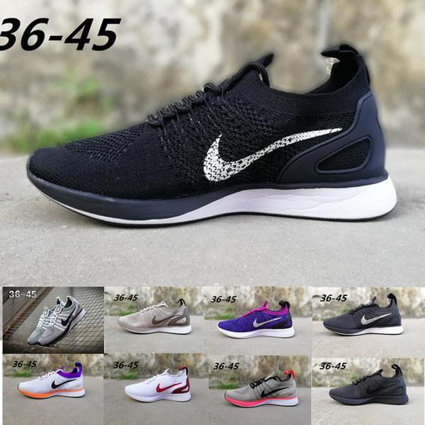 Compre Nike Flyknit Racer 2 2019 Air Zoom Mariah Racer Calzado De Running Para Hombre Para Mujer Racer 2.0 MultiColor String Femme Homme Calzado