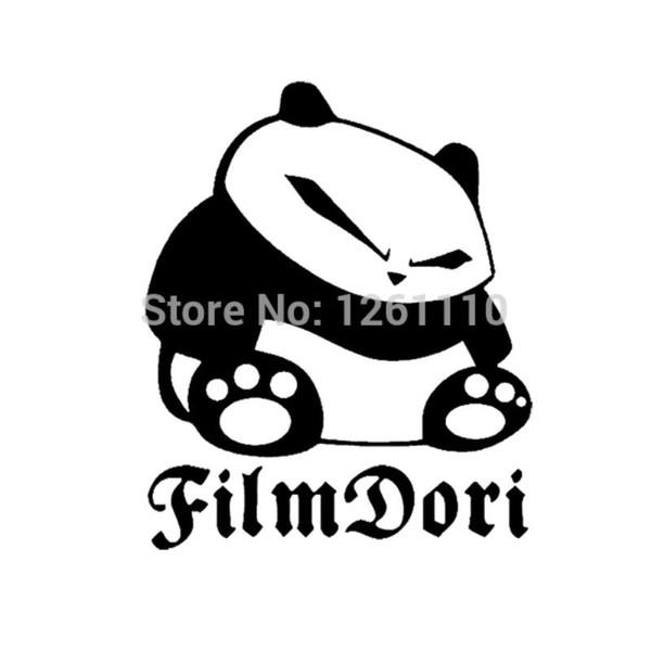 HotMeiNi Wholesale 20pcs/lot Funny Drift Panda JDM FilmDori sticker decal For the Car Truck SUV OFF ROAD Rear windshield