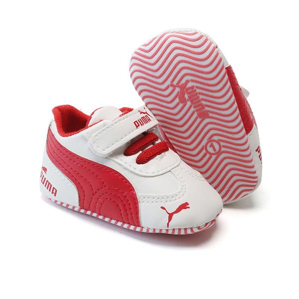 Yenidoğan Bebek Kız Erkek Yumuşak Sole Ayakkabı Bebek Sneaker Ayakkabı Casual Prewalker Bebek Klasik İlk Walker Ayakkabı Anti-skid