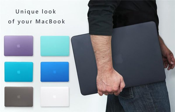 Estuche para MacBook Air Pro Macbook Retina 11 12 13 15 Pulgadas Estuche Duro Mate Delantero Trasero de Cuerpo Completo Funda para Portátil Cubierta de Shell al por mayor
