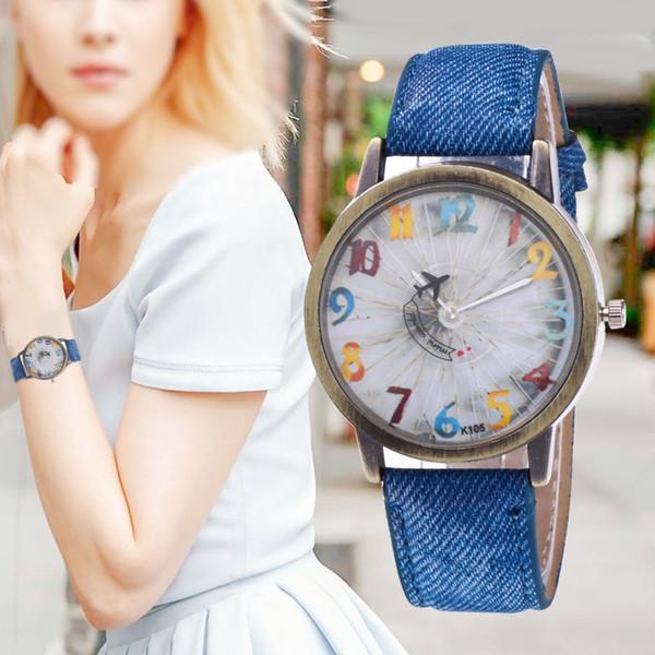 Günlük Kadınlar Romantik Bilek İzle Deri Yapay elmas Tasarımcı Bayanlar Saat Basit Gfit Montre Femme Drop Shipping 50
