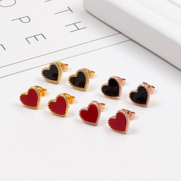 Korean Sweety Schöne Art Ohrringe Mode Frauen Unregelmäßige Liebe Herz Baumeln Haken Geometrische Ohrringe Geschenk