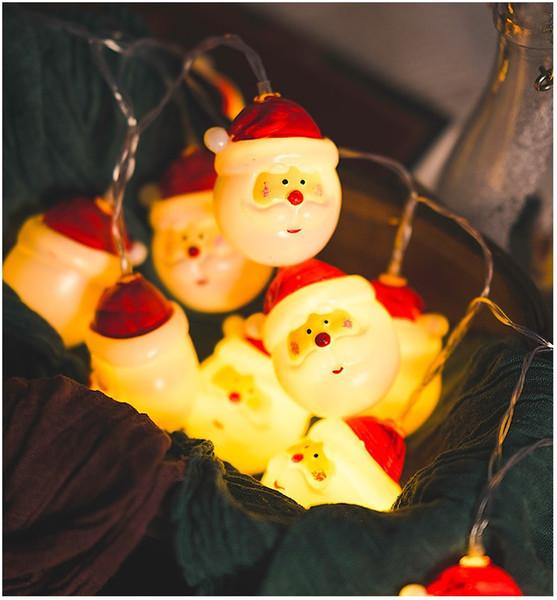 Led ışıkları Noel kardan adam ışıkları Noel Baba dekoratif tatil kardan adam kafa dize sahne Noel ağacı dekore Yeni Yıl süslemeleri