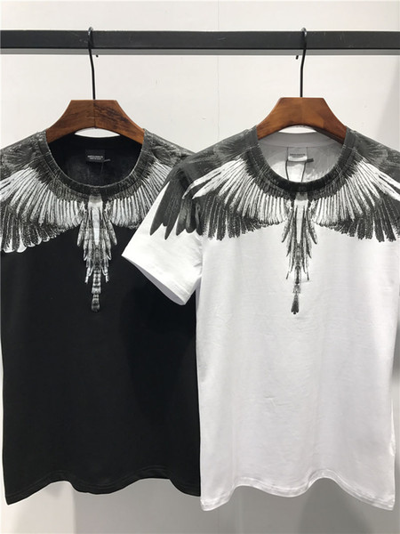 2019 Sommer Neue Ankunft Top Qualität Marcelo Burlon Herrenbekleidung Designer T-Shirts MB Print Fashion Tees Größe M-3XL M161