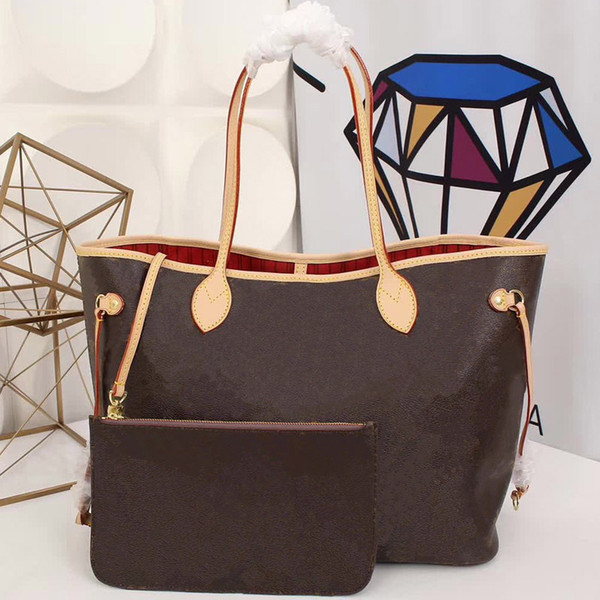 Designer handbags Original leather women handbags L flower luxury designer composite bags lady clutch shoulder tote female purse with wallet
