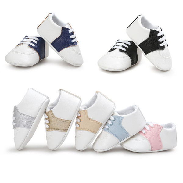 Multi-Styles Baby Shoes Non-slip Soles Baby Boy and Girl Candy Colored First Walker shoes Infant Fashion Bow Tassel Toddlers Shoes wholesale