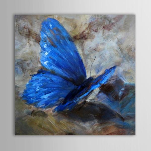 Ручная роспись абстрактная картина маслом животных на холсте красивая бабочка искусство для дома стены украшения или подарки DH13