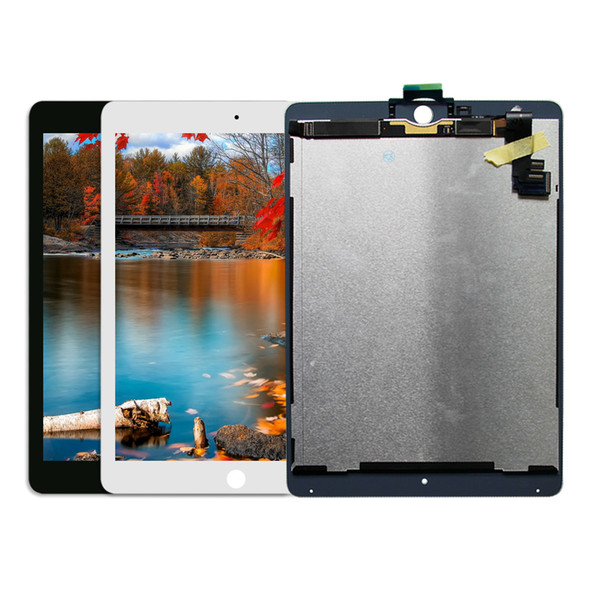 Tam İş LCD Meclisi Digitizer Için iPad Hava 2 Için iPad 6 A1566 A1567 Ekran Dokunmatik Ekran Paneli Yedek parça